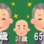 薄毛の年齢も割合も関係なくフサフサな60代がいる事実が受け止められない!