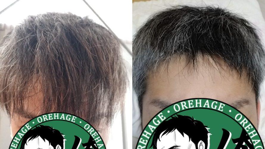 【薄毛救済】短髪ヘアセットでハゲを目立たなくする【写真・ワックス】
