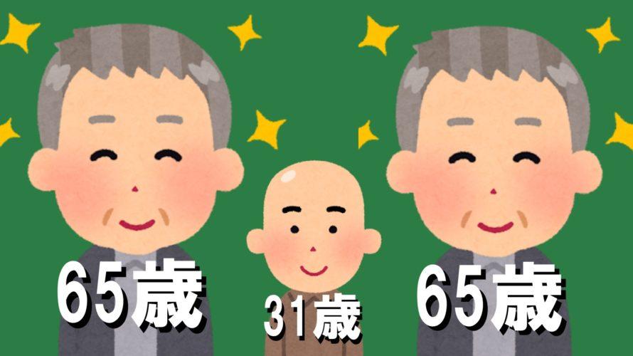薄毛の割合と年齢